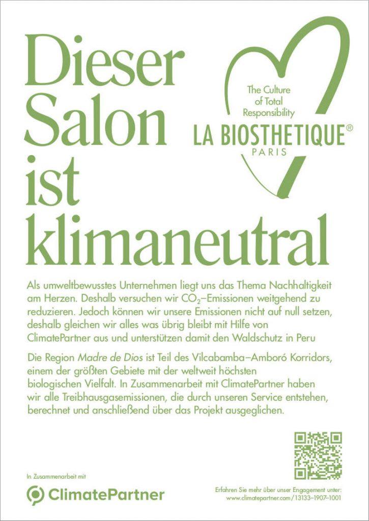 Friseur Niederkrüchten klimaneutraler Salon
